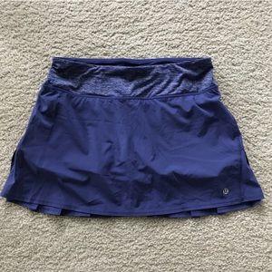 Lululemon Navy Blue Tennis Skirt